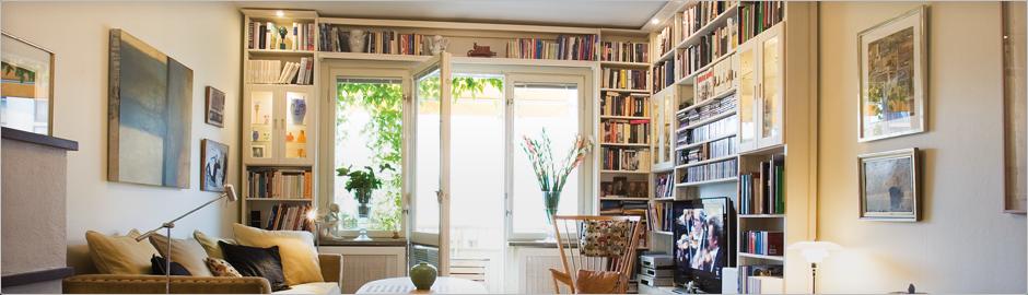 Bokhyllor - måttanpassade bokhyllor efter dina rum - Bygg själv ...